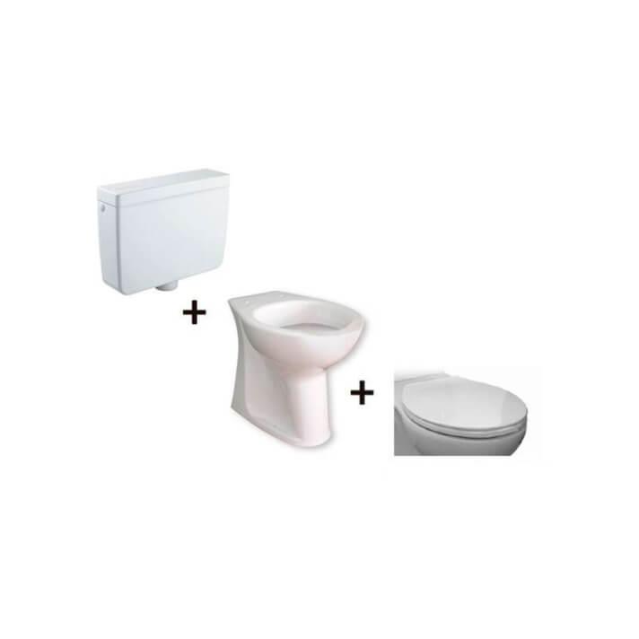 Inodoro completo cisterna alta Accessible