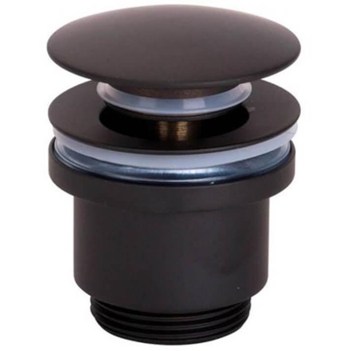 Válvula de drenagem preta mate - IMEX