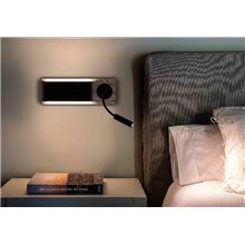 Aplique de pared con lector Mood Faro