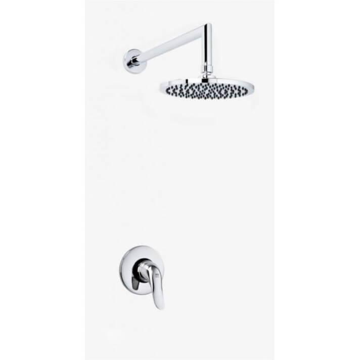 Conjunto de duche para encastrar Lodi - Griferías MR