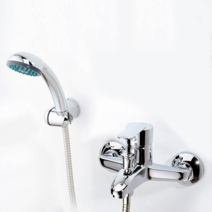 Grifo monomando para bañera Baza 07