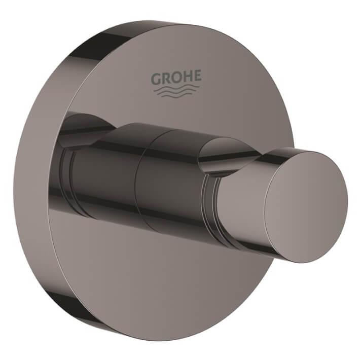 Colgador de base circular grafito brillo Essentials Grohe