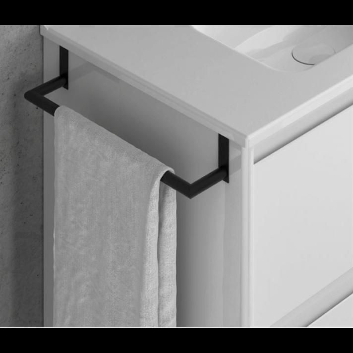 Toallero de latón de 275 mm para mueble Royo