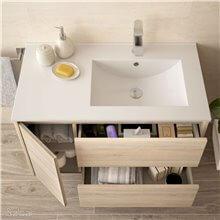 Mueble de baño 855 Izquierda Roble Caledonia...