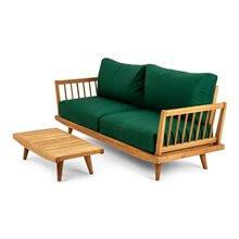 Set composta da divano a 2 posti e set da...