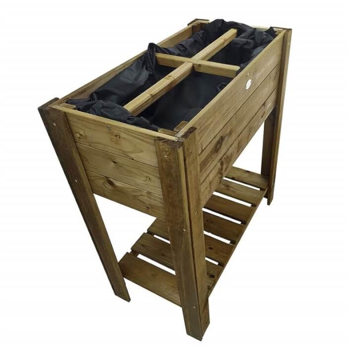 Orto tipo tavolo in legno Compact Gardiun