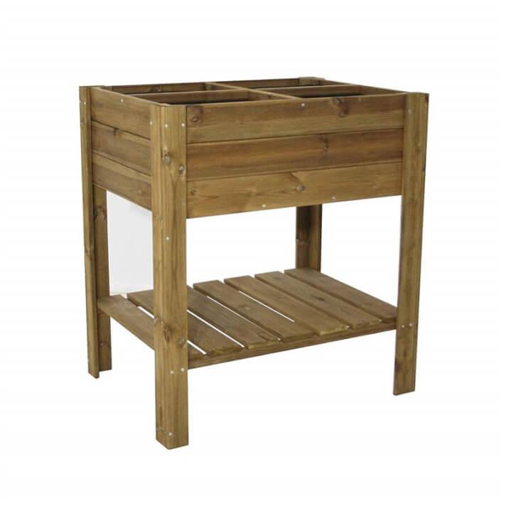 Orto tipo tavolo in legno Gardiun