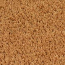 Felpudo de fibra de coco color natural 17 mm...
