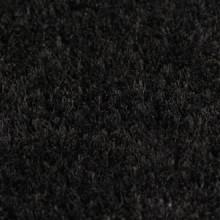 Felpudo de fibra de coco negro 17 mm 100x200...