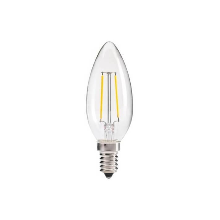 8 lampadine candela 4 W