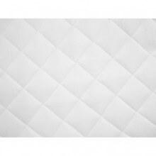 vidaXL Couvre-matelas matelassé Blanc 90x200 cm...
