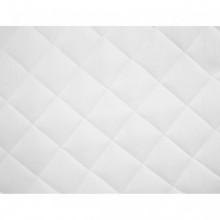 vidaXL Couvre-matelas matelassé Blanc 140x200...