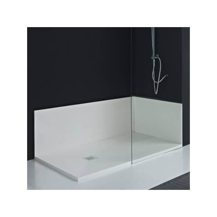 Panneau de salle de bains sur mesure Ardoise/Calize/Lisse