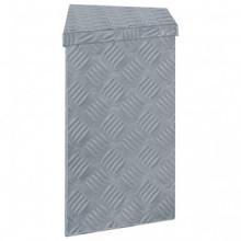 Caja de aluminio 70x24x42cm forma trapezoide...