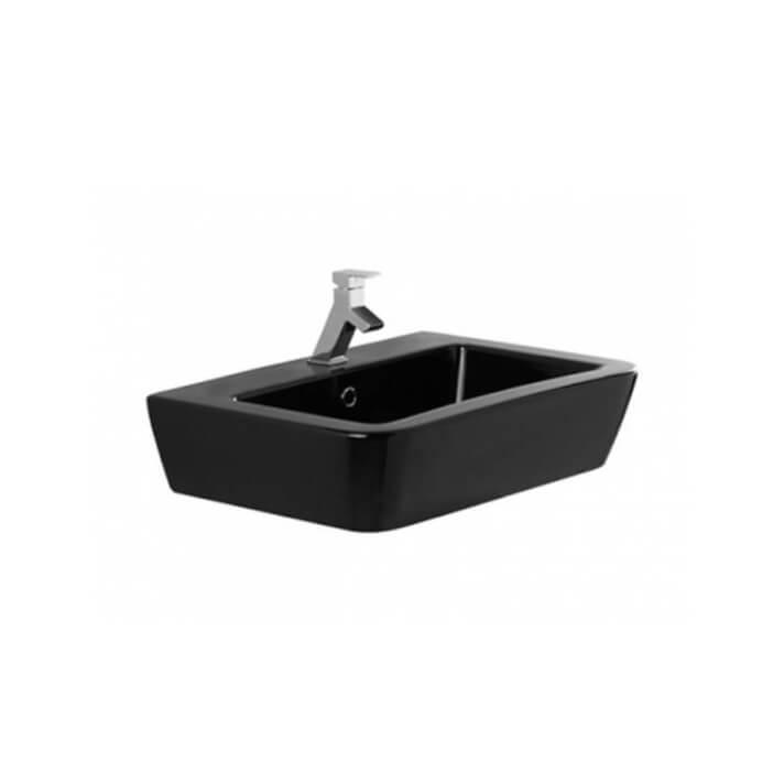 Lavabo negro de 65 cm ADVANCE Unisan