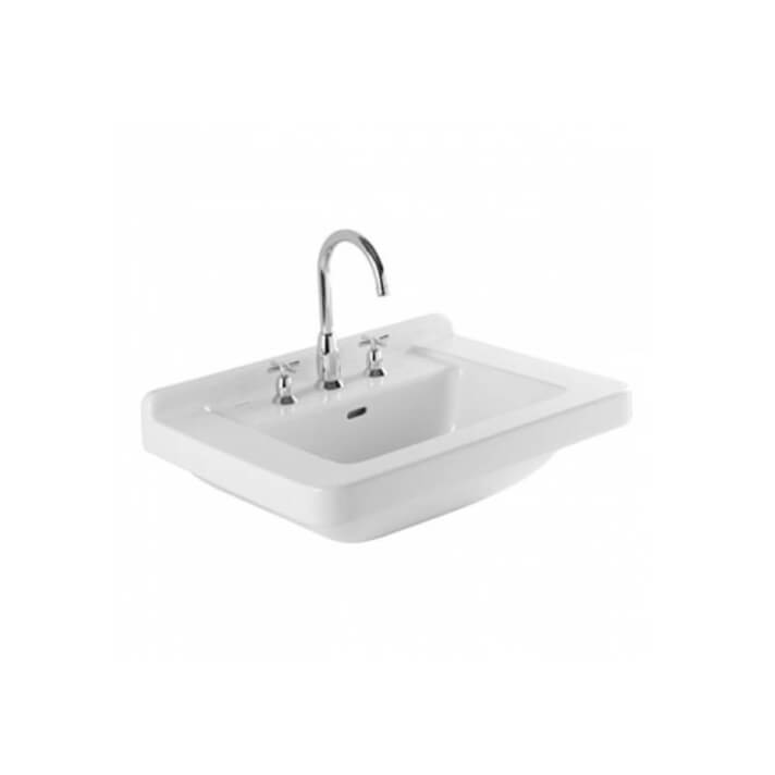 Lavabo VINTAGE 68 con 3 fori per la rubinetteria