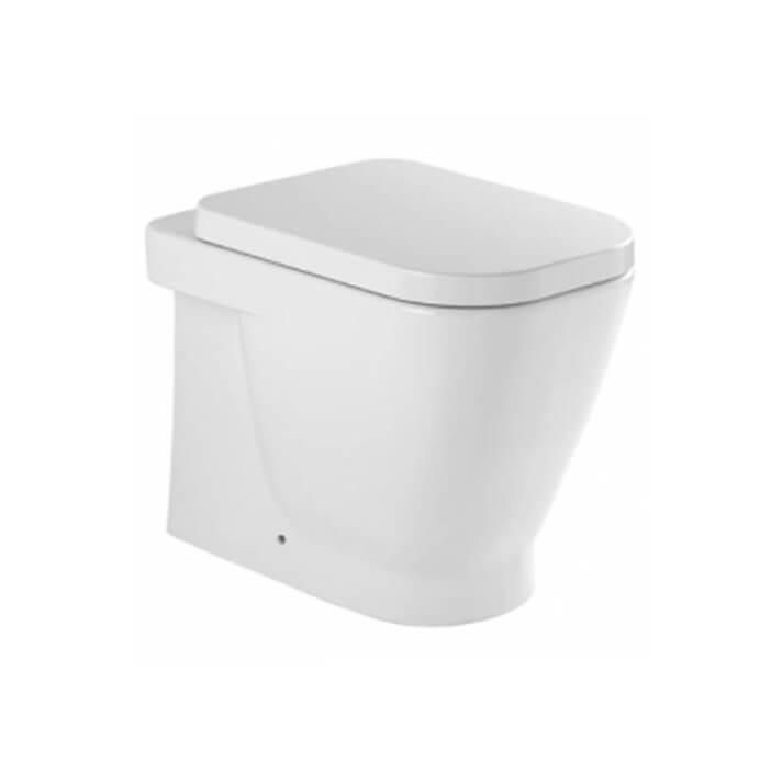 Inodoro a suelo LOOK de cisterna alta o empotrada