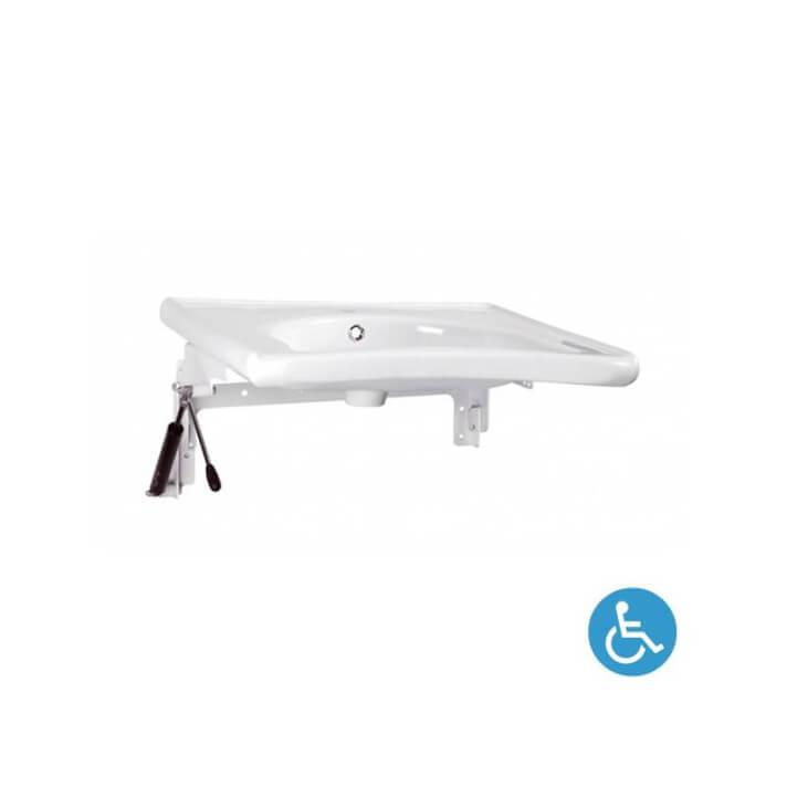 Fixation automatisée NEW WCCARE pour lavabo Sanindusa