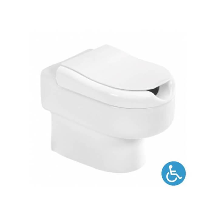 Inodoro a suelo NEW WCCARE de cisterna alta o empotrada Unisan