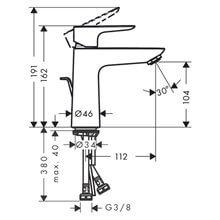 Robinet de lavabo mitigeur Talis 110 Coolstart...