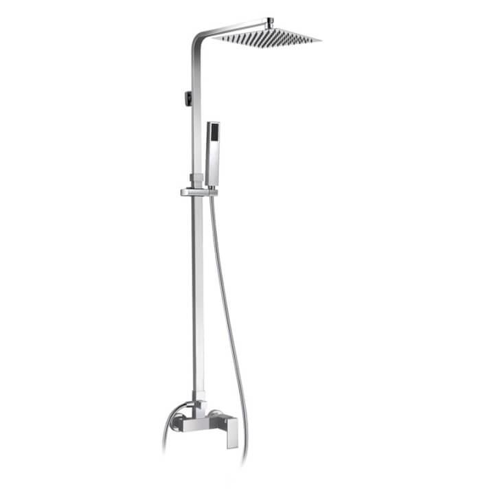 Conjunto de ducha monomando Quadra GME