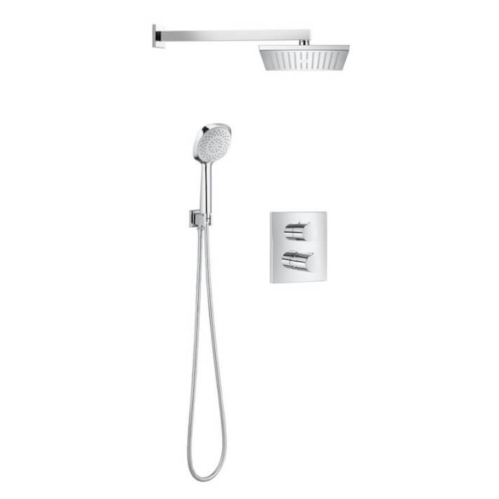 Conjunto de ducha termostático Square Roca