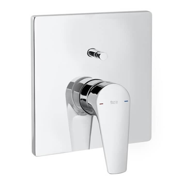 Grifo empotrable baño-ducha con inversor Atlas Roca