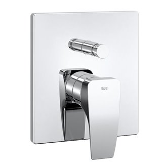 Grifo de bañera-ducha empotrable Thesis Roca