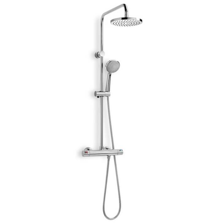 Colonna doccia termostatica Victoria Roca