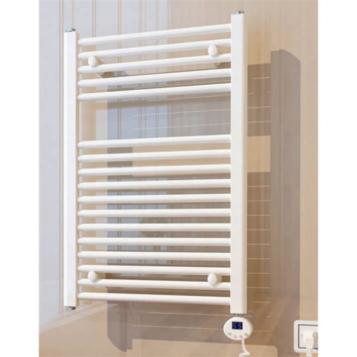 Radiador secatoallas eléctrico blanco 80 Oxen