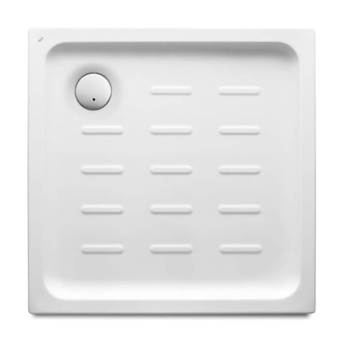 Receveur de douche carré acrylique 75x75 cm Easy Roca