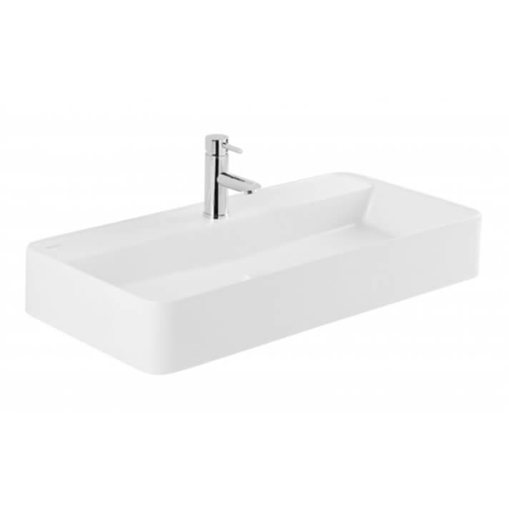 Lavabo rectangular Sanlife 80x40 cm Unisan