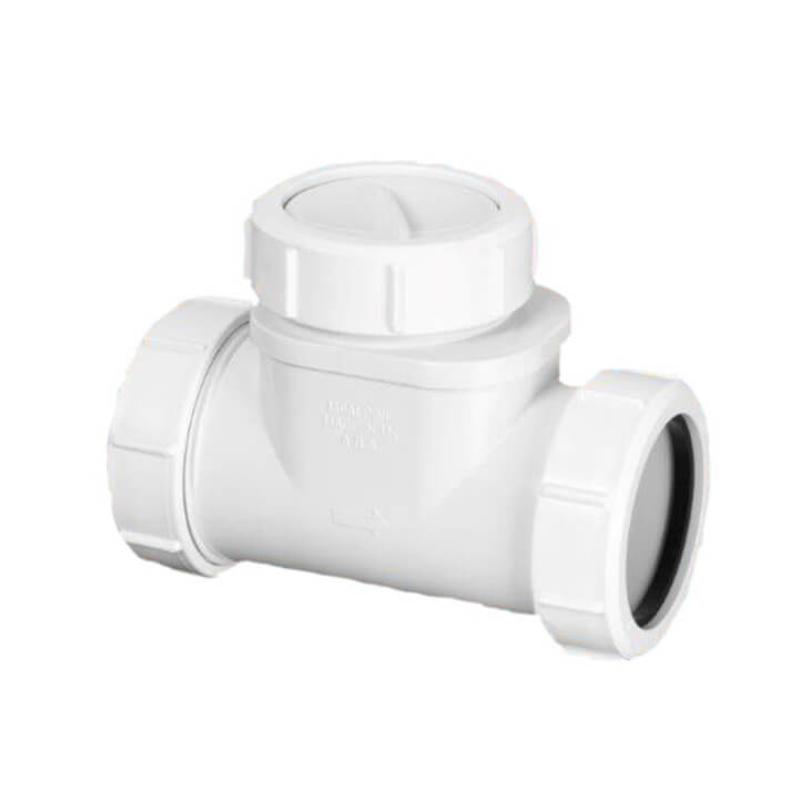 Válvula anti-retorno para instalaciones sanitarias Kansas Solfless