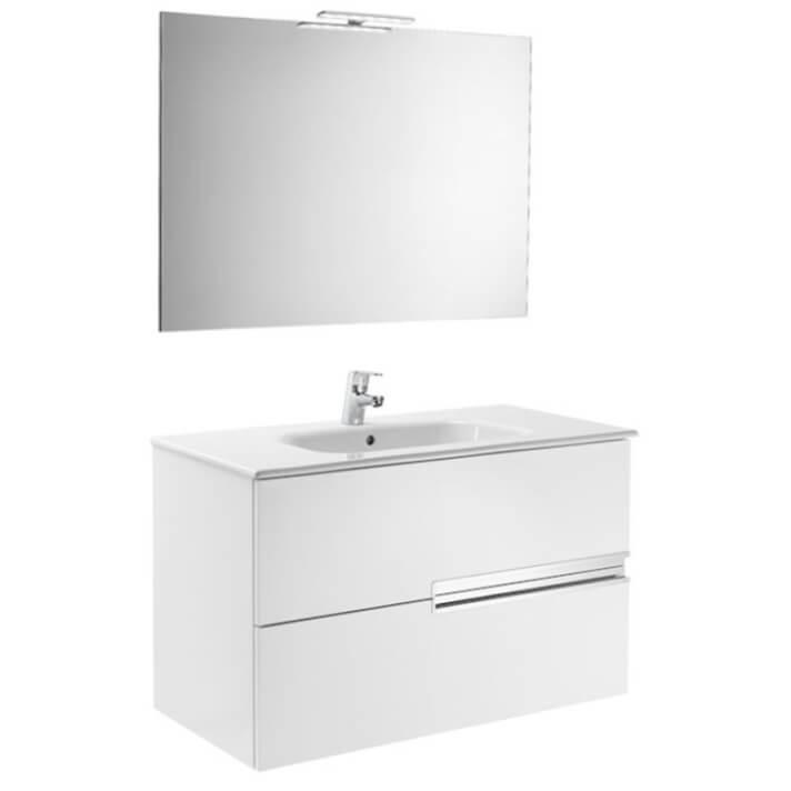 Mueble Pack blanco 100cm Victoria-N Roca
