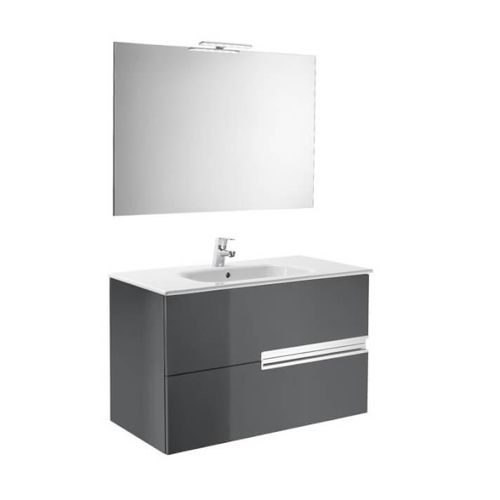 Mueble Pack gris 100cm Victoria-N Roca