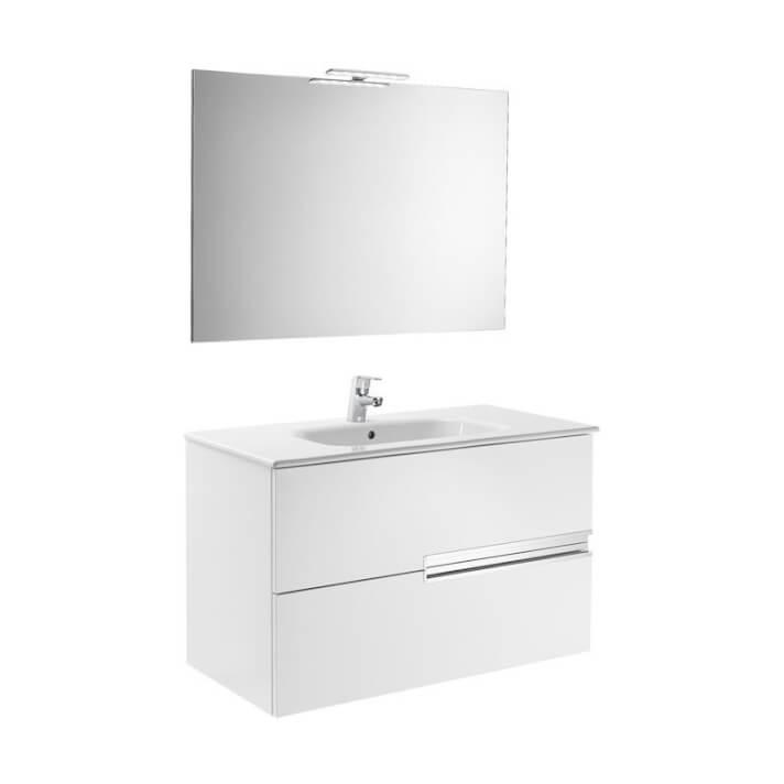Mueble Pack blanco 90cm Victoria-N Roca