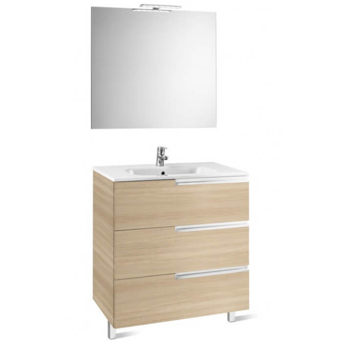 Mueble Pack Family roble 100cm Victoria-N Roca