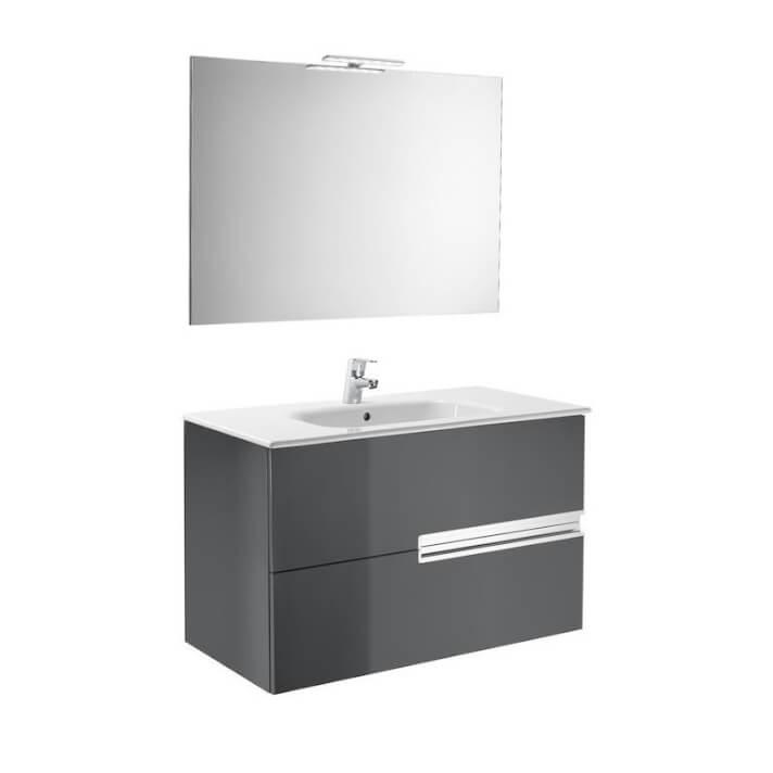 Mueble Pack gris 90cm Victoria-N Roca