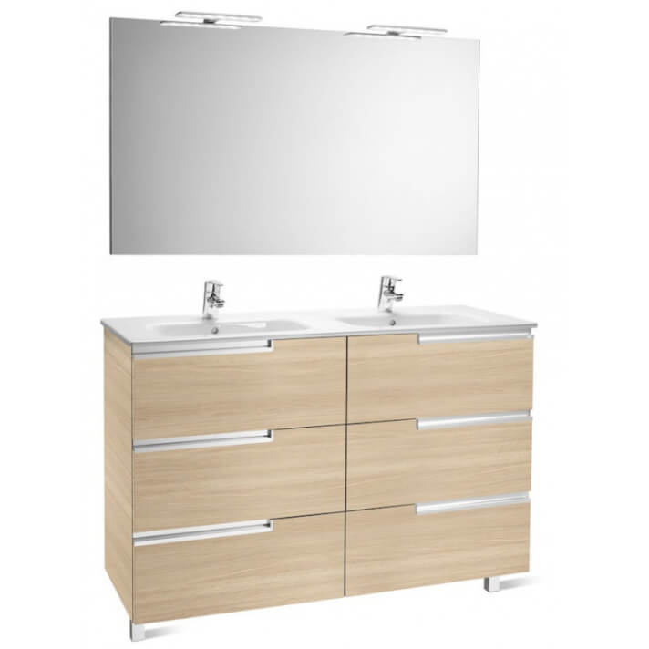 Mueble Pack Family roble 120cm Victoria-N Roca