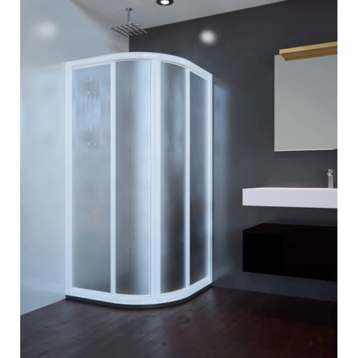 Mampara de ducha semicricular ST PARIS Doccia