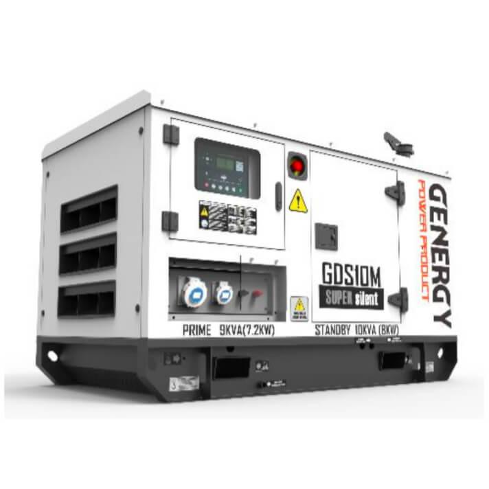 Generador 8000W GDS10M Silent Diesel Genergy
