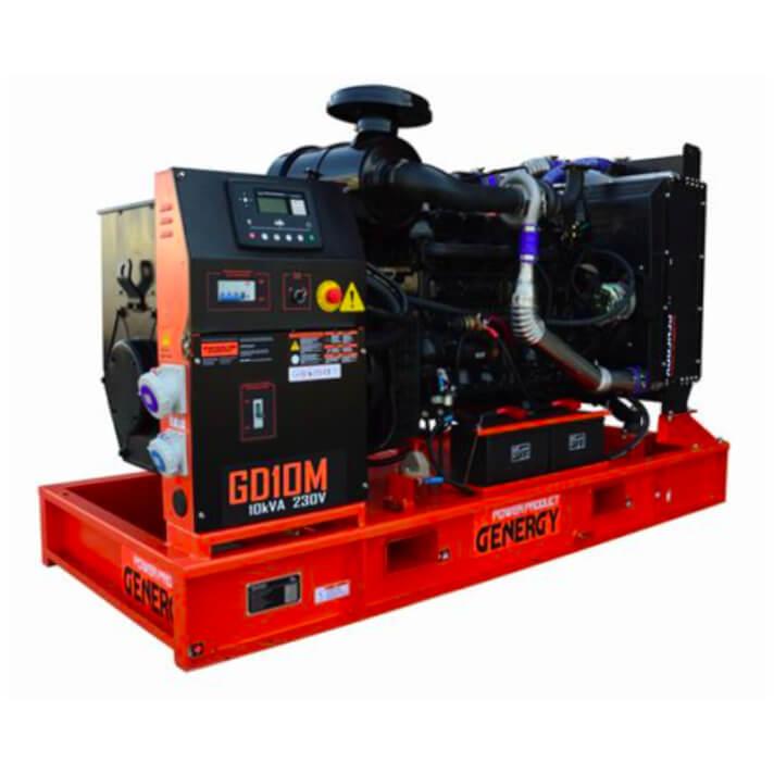 Generador 8000W GD10M Open Diesel Genergy