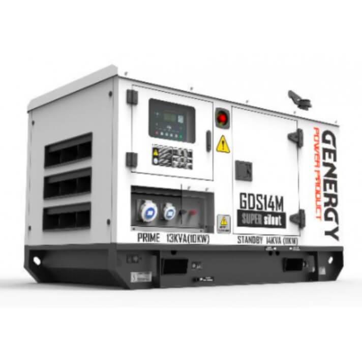 Generador 11000W GDS14M Silent Diesel Genergy