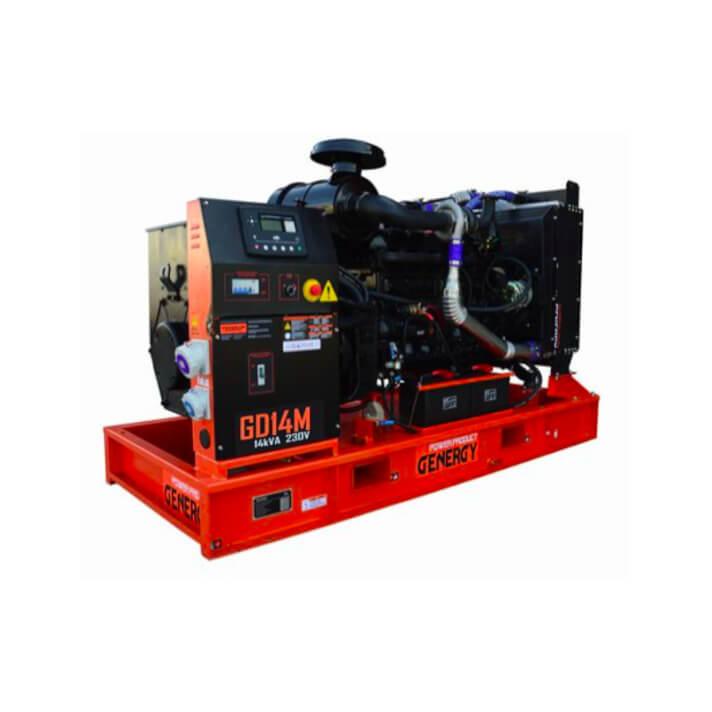 Generador 11000W GD14M Open Diesel Genergy