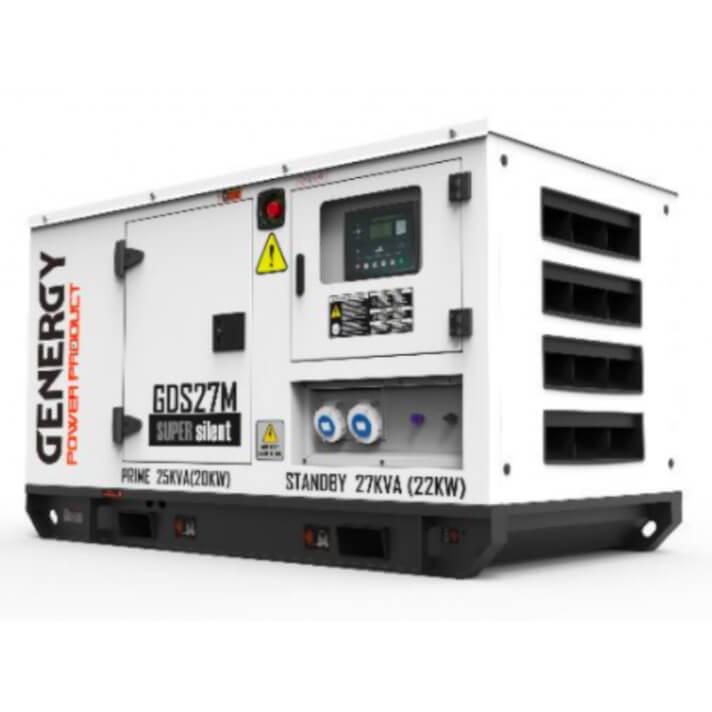 Generador 22000W GDS27M Silent Diesel Genergy