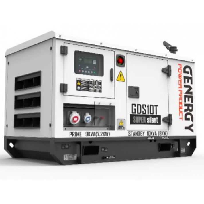 Generador 11000W GDS10T Silent Diesel Genergy