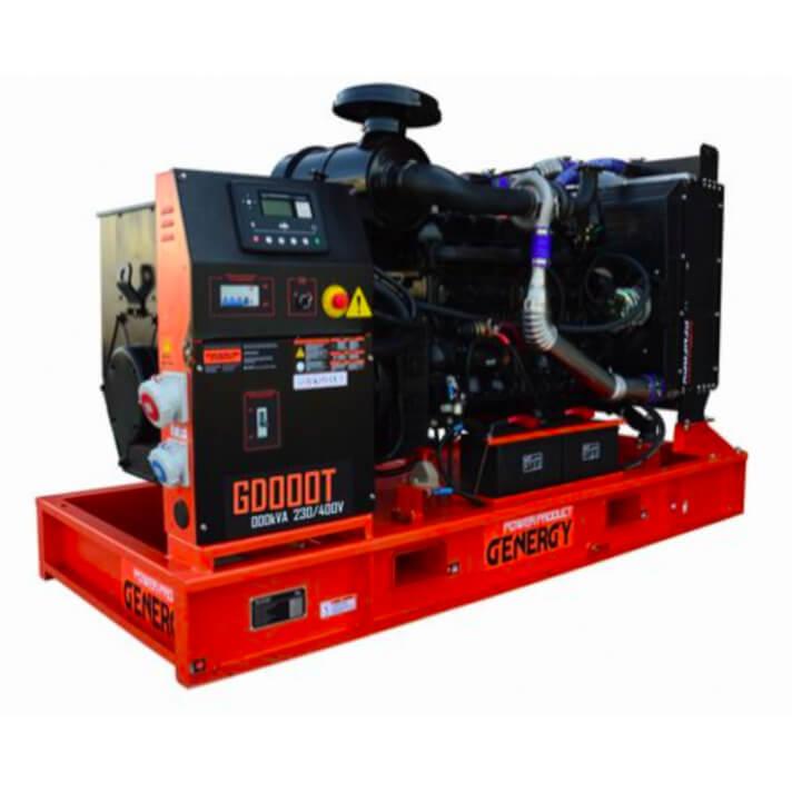Generador 11000W GD10T Open Diesel Genergy