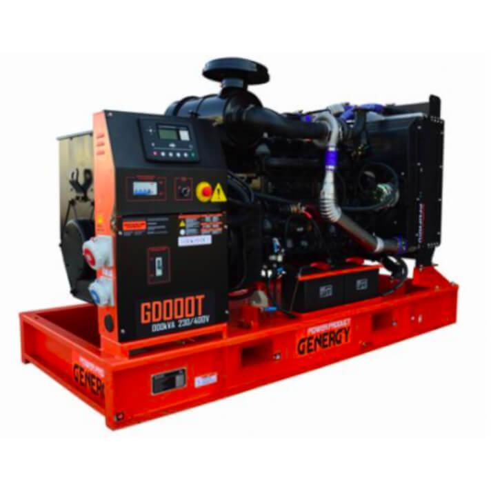 Generador 37000W GD50T Open Diesel Genergy