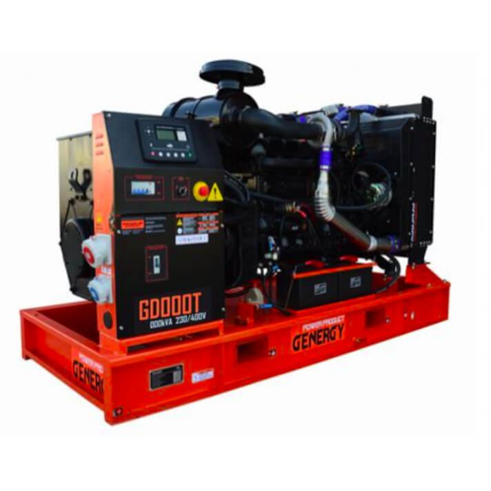 Generador 55000W GD70T Open Diesel Genergy