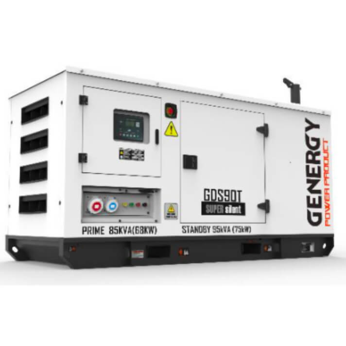Generador 75000W GDS90T Silent Diesel Genergy